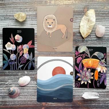 Botanica Tarot and Inner Compass Kids Cards