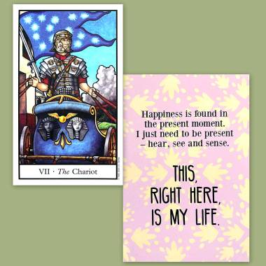 Connolly Tarot and Less Anxiety Affirmation Tarot