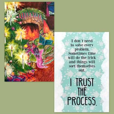 Inner Child Cards Fairy Tale Tarot and Less Anxiety Affirmation Cards