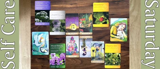 Playful Heart Tarot, Whispering Herbs Healing Cards, and The Zen of Animals Cards