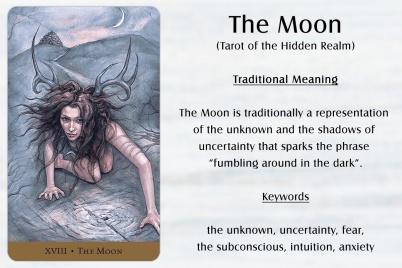 Tarot of the Hidden Realm - The Moon