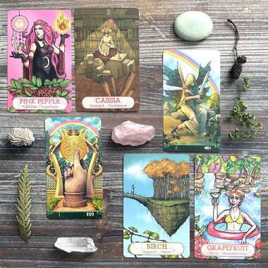 Oracle of the Essences 2nd Edition and Tarot at the End of the Rainbow