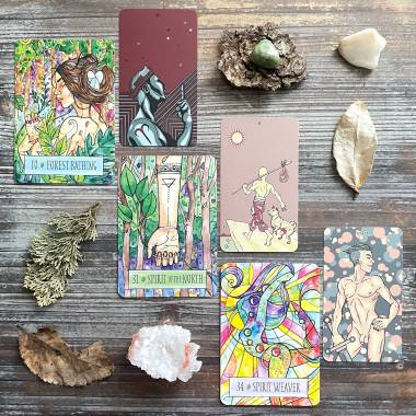 Earthcraft Oracle and The Prismatic Tarot