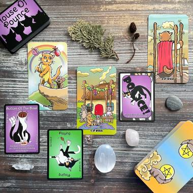 House of Pounce Game Cards and Kiddy Katz Tarot