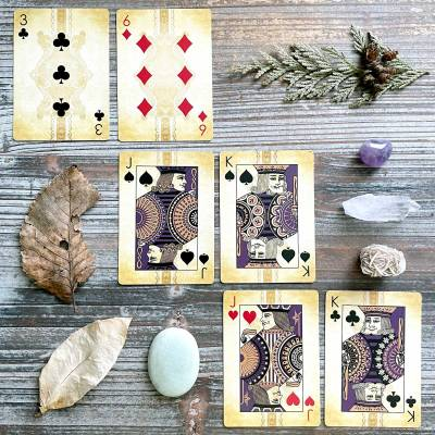 Johannes Brahms Composers Luxury Playing Cards