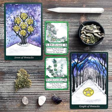 Unruly Game Cards and Tarot of the Trees 10th Anniversary Edition