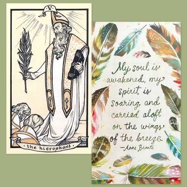 Fyodor Pavlov Tarot and How to Be a Wildflower Deck