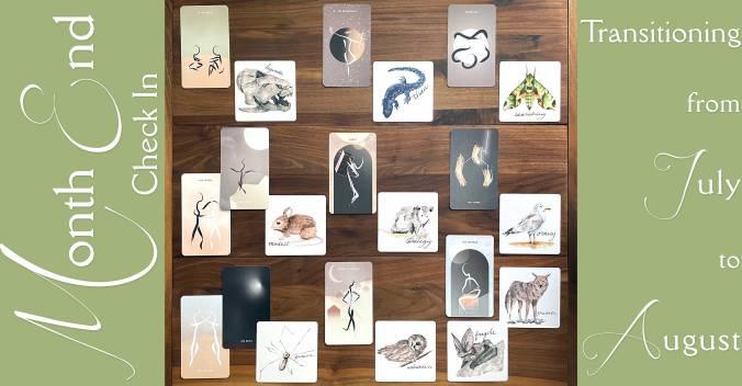 Homebound Tarot and David Wilson's Animal Oracle