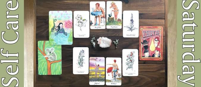 Hilda Tarot, Hedgewitch Botanical Tarot, Oilracle Essential Oils Card Deck