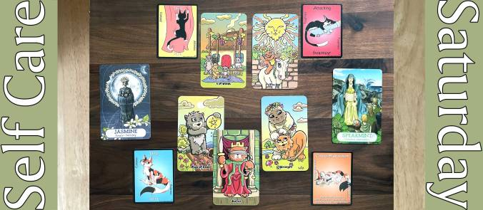 Kiddy Kats Tarot, Pounce Game Cards, Oracle of the Essences 2nd Ed