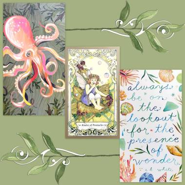 Mystic Faerie Tarot and How to Be a Wildflower Deck