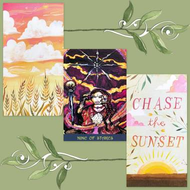 Sacred Bridges Tarot and How to Be a Wildflower Deck