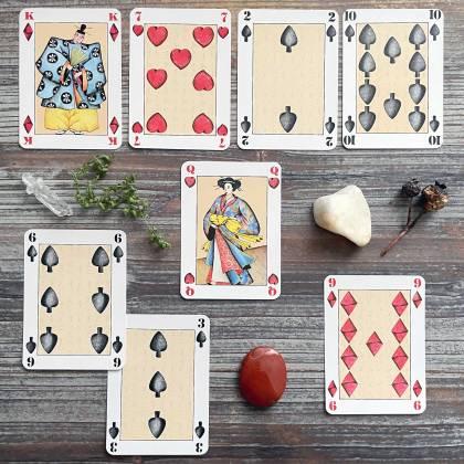 Jeu Japonais Playing Cards