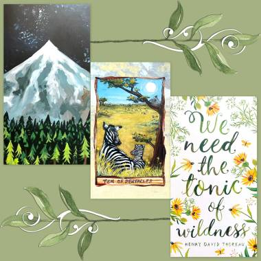 Animism Tarot and How to Be a Wildflower Deck