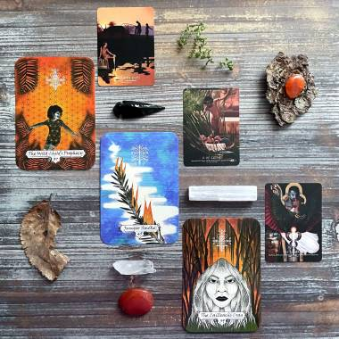 Sacred Hags Oracle and Journey Into Egypt Tarot