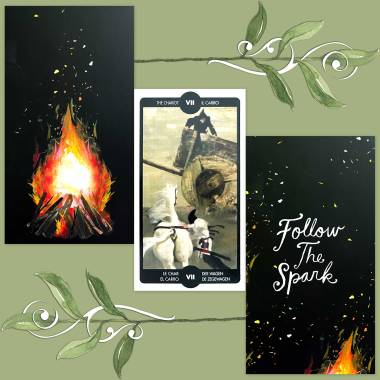 Tarot of the Imagination and How to Be a Wildflower Deck