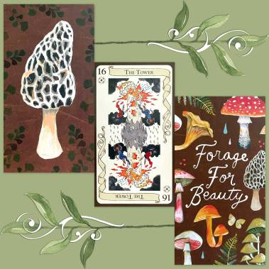 The Tarot of Loka and How to Be a Wildflower Deck