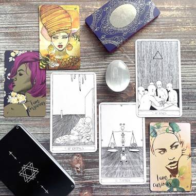 Personal Power Oracle 2nd Edition and Crystal Bones Tarot