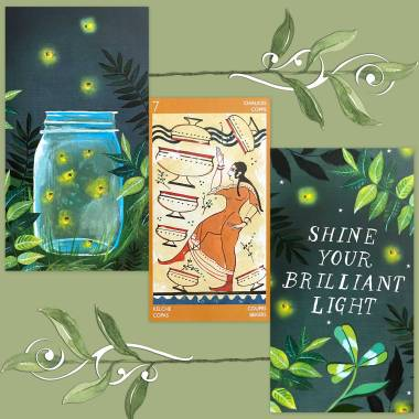 Etruscan Tarot and How to Be a Wildflower Deck