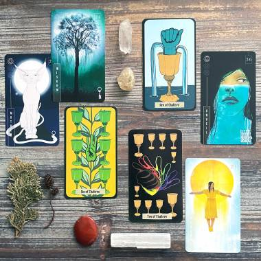 There is Always Light Oracle and The ASL Tarot