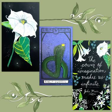 Dear Heart Tarot and How to Be a Wildflower Deck