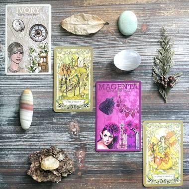 Colour Goddess Casting Cards and Mystic Faerie Tarot