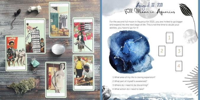 Frau Grand Duchess Tarot - Blue Moon in Aquarius Tarot Reading
