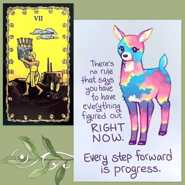 Tarot of the Nile and Thera-Pets Emotional Support Animal Cards