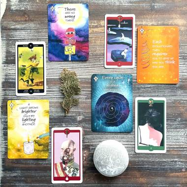 Cosmic Journey Oracle and Tarot of the Imagination