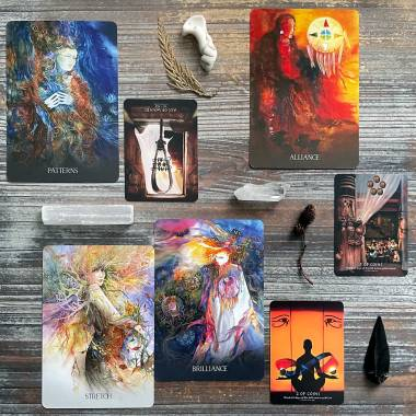 Sacred Earth Oracle and Journey Into Egypt Tarot