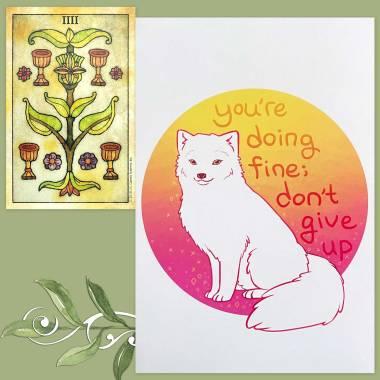 Tarot de Maria Celia and Thera-Pets Emotional Support Animal Cards