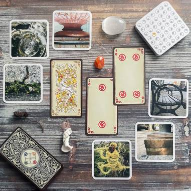 Ouisi Game Cards and The Tarot of Loka