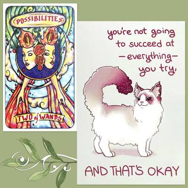 Tarot Illusori and Thera-Pets Emotional Support Animal Cards