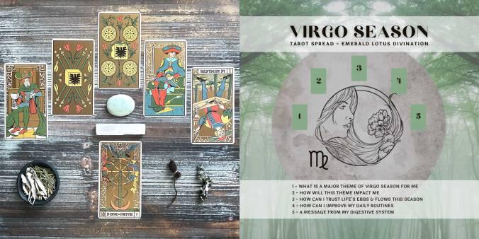Virgo Season Tarot Reading - Symbolic Tarot of Wirth