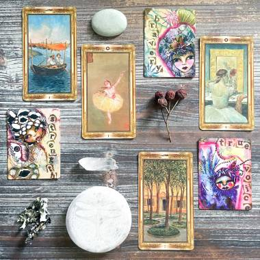 Journey Into the Heart Oracle and Impressionists Tarot