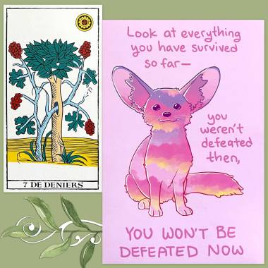 Tarot de Marseille of the New Incarnation and Thera-Pets Emotional Support Animal Cards