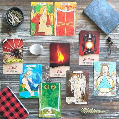 Rustic Oracle and W.S. Tarot