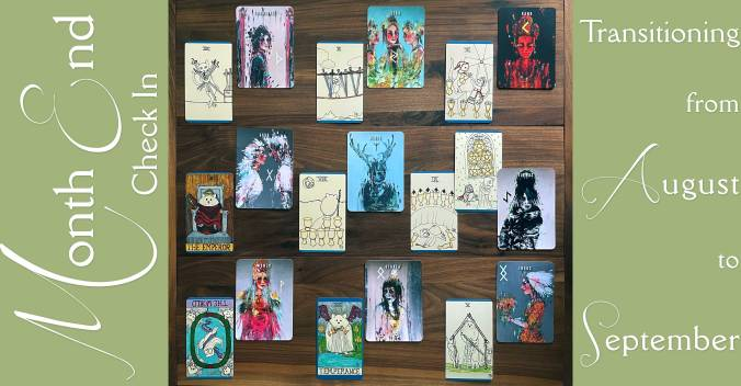 Neurotic Owl Tarot and The Painted Runes