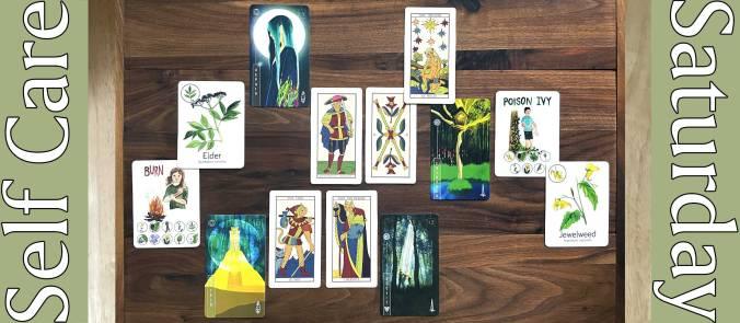 Feline Marseilles Tarot, There Is Always Light Oracle, Wildcraft! Herbal Adventure Game Cards