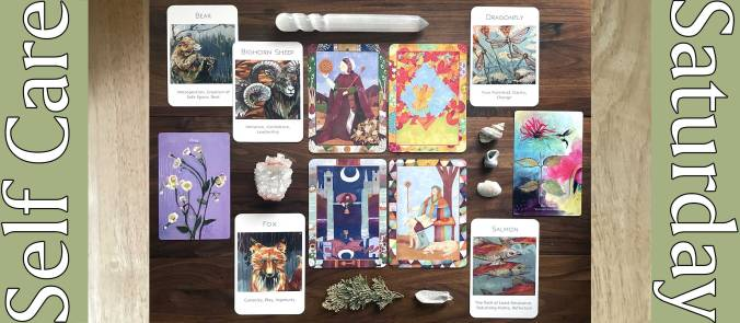 Anecdotes Tarot, Wildlife Wisdom Oracle, and Flower Medicine Oracle
