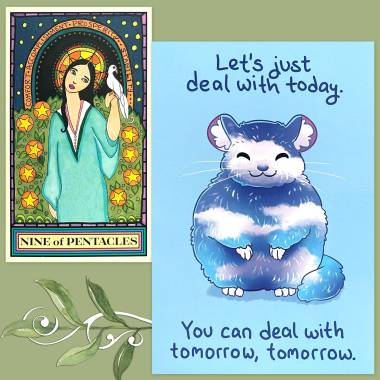 Wandering Star Tarot and Thera-Pets Emotional Support Animal Cards
