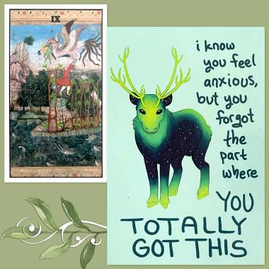 Serpent and the Peacock Tarot and Thera-Pets Emotional Support Animal Cards