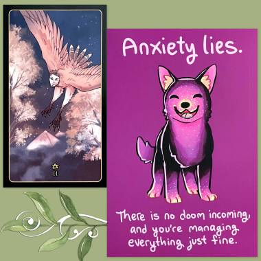 Terato Tarot and Thera-Pets Emotional Support Animal Cards
