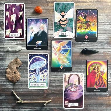 Dream Symbol Oracle and Osho Zen Tarot