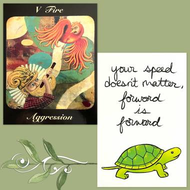 Journey of the Bearded Tarot and Thera-Pets Emotional Support Animal Cards