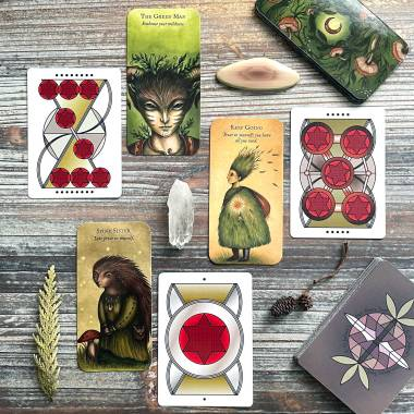 Forest Fae Cards and E D Jasbeck's Non-Binary Tarot