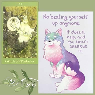 L'Œil de L'Âme Tarot and Thera-Pets Emotional Support Animal Cards