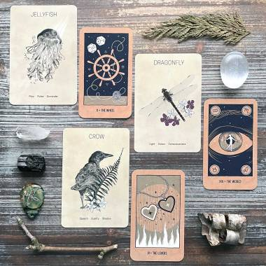Messengers of the Great Bear Oracle and the Transient Light Tarot