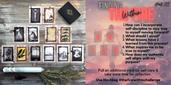 Stretch Lenormand - Finding the Fire Within Reading