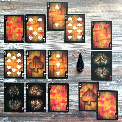 Bicycle Sewer Dwellers Playing Cards
